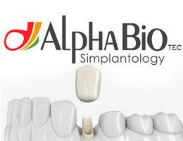 Установка имплантов Alpha Bio